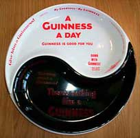 Fake Carlton Ware Guinness dishes