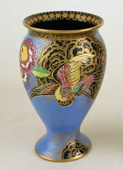 NEW CHINESE BIRD & CLOUD 3320 vase