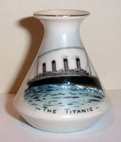 Carlton Ware Titanic china vase 2