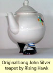 Original Rising Hawk teapot