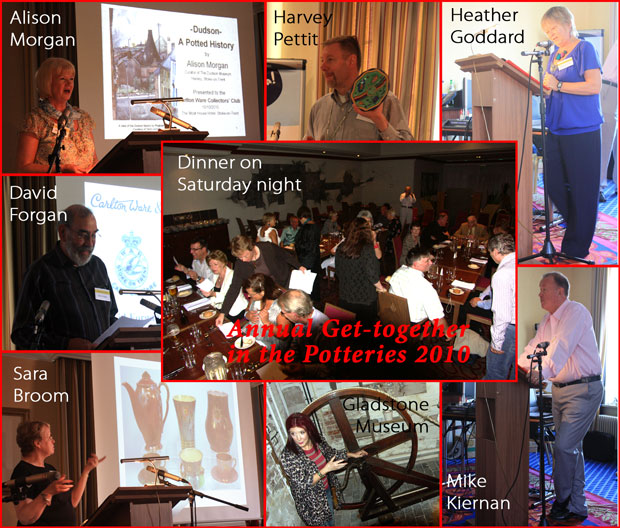 Montage of pictures from Stoke-on-Trent get-together 2010