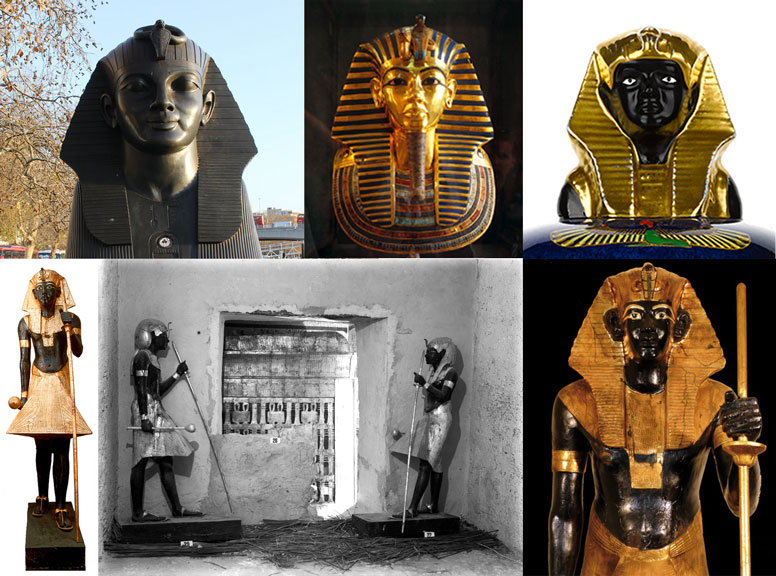 TUT montage © Griffith Institute, University of Oxford