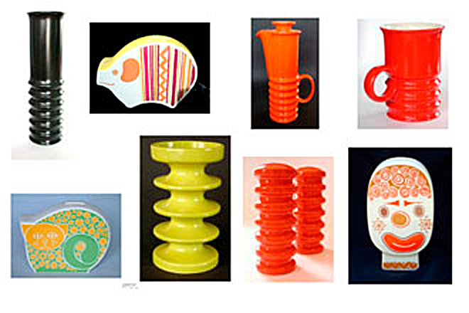 Examples of Carlton Ware from the 1960s & 70s - Wellington, Money boxes