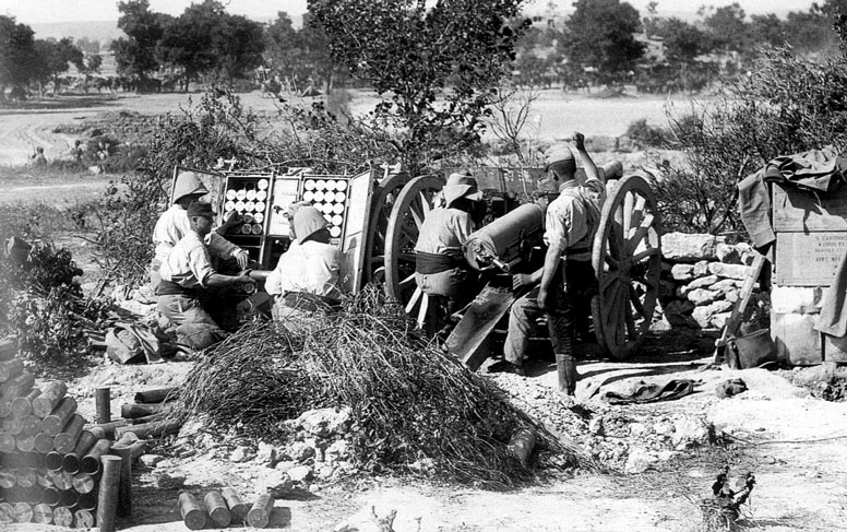 Image result for ww1 french 75mm field gun