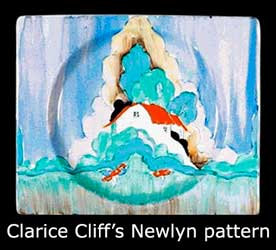 Clarice Cliff Newlyn plate