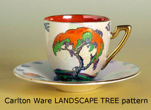 LANDSCAPE TREE coffee cup & saucer